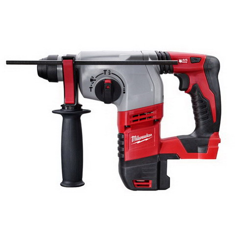 Milwaukee Tools 2605-20 M12 Cordless SDS-Plus Rotary Hammer 18 Volt, 11.75 Inch Length x 7\/8 Inch Chuck, Lithium-Ion Battery,