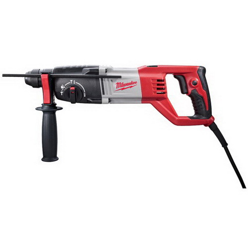 Milwaukee Tools 5262-21 SDS Plus Rotary Hammer Kit 120 Volt, 17 Inch Length x 7\/8 Inch Chuck,