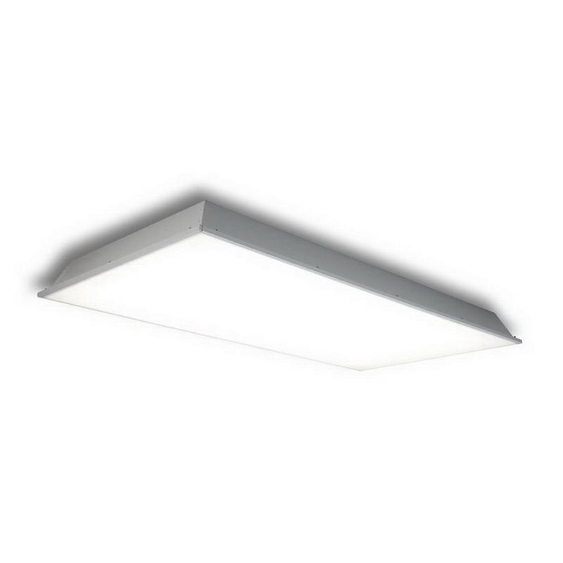 GE Lighting BT220A3APWHTE Lumination T-Grid/Bolt Slot Mount Recessed Troffer LED Light 35 Watt, 120/277 Volt, White,