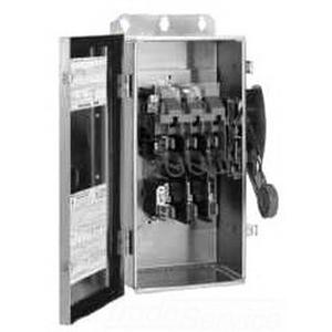 Eaton cutler-hammer heavy duty safety switch 60a 250v