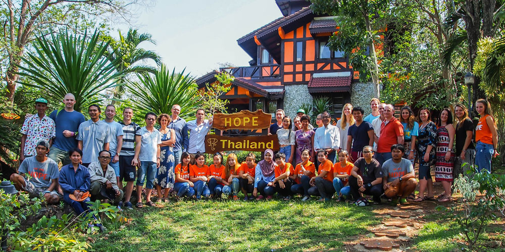 Hope Rehab Center Thailand's facility in Chiang Mai, Thailand