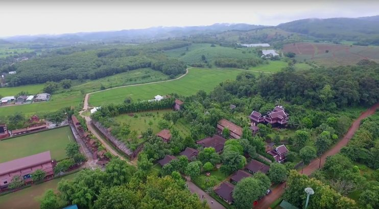 aerial view Serenity Rehab Thailand campaus