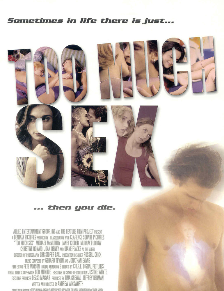 Too much sex poster