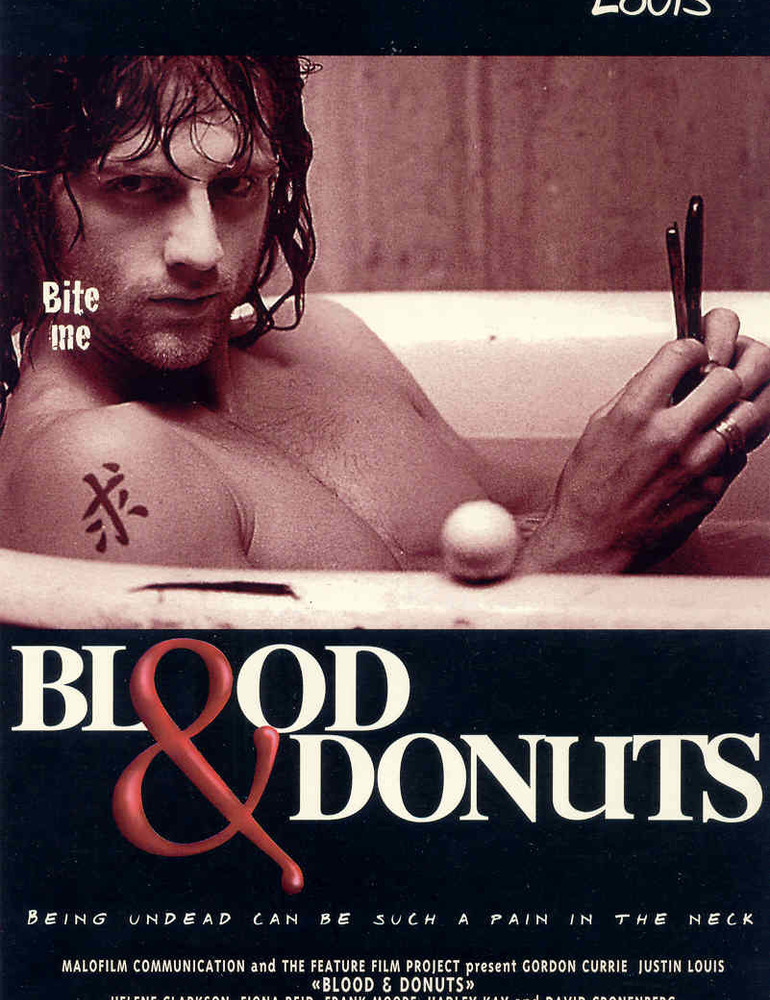 Blood   donuts poster