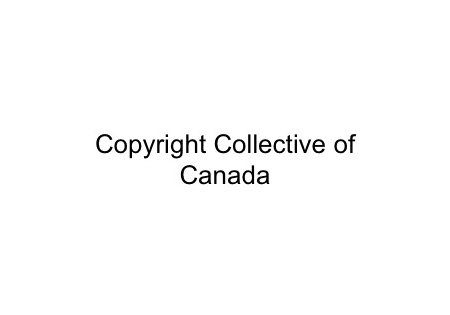 Copyright canada