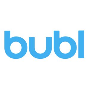 Bubl logo blue press copy