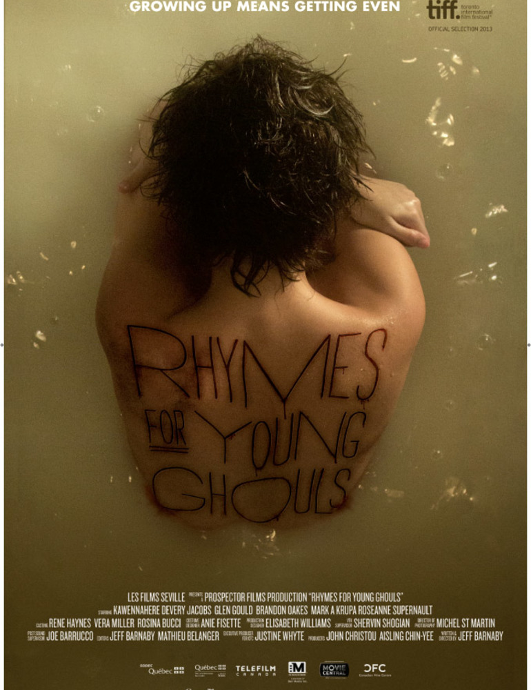 Rhymes for young ghouls poster