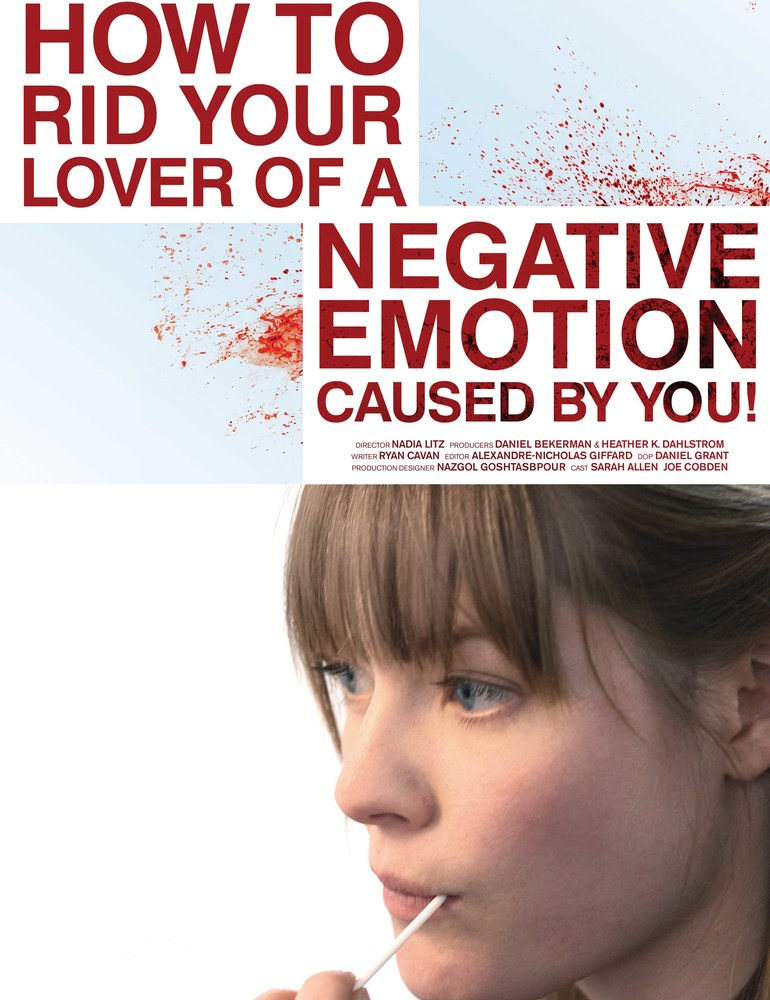 Negative emotions small poster
