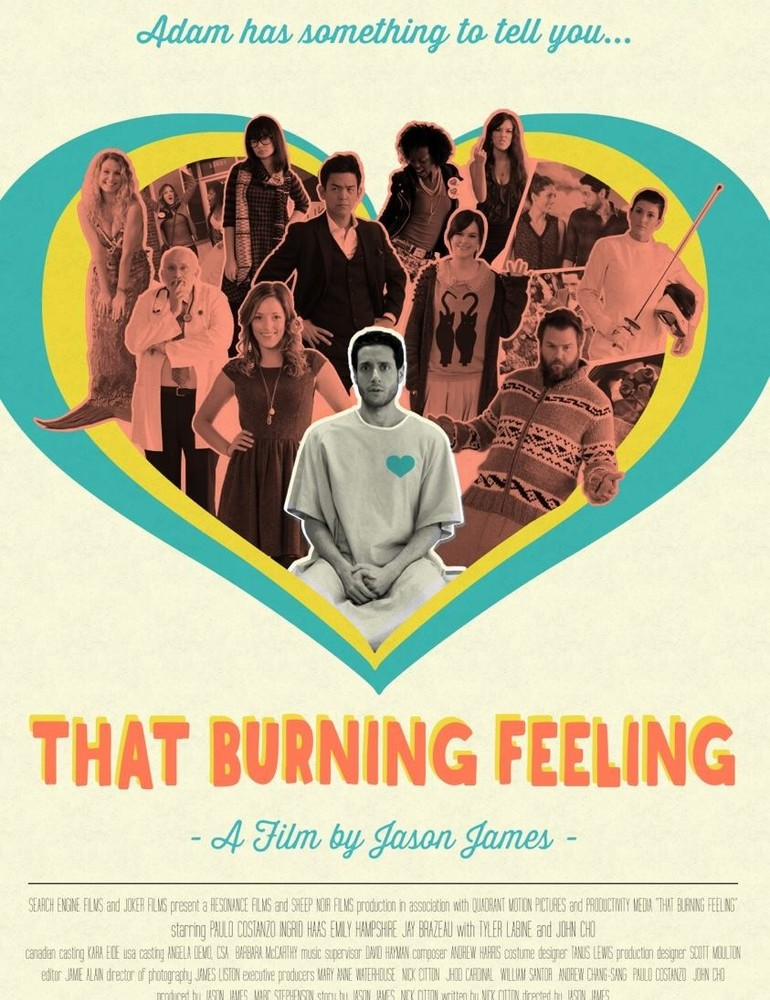 That burning feeling movie poster