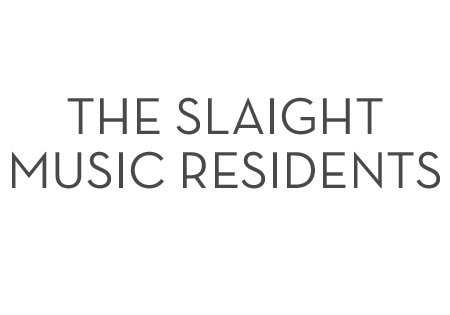 Logo for the Slaight Family Music Residents