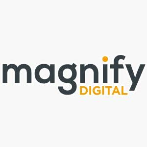 Magnify digital logo lorez