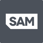 Sam logo %28grey%29