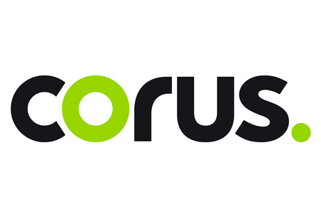 Logo for Corus Entertainment