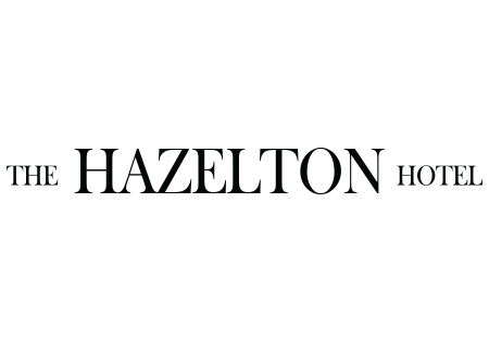 Logo for the Hazelton Hotel