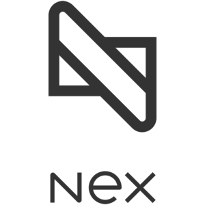 Nex primary vertical web grey sq