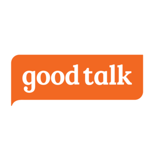 Goodtalk logo orange solid 2