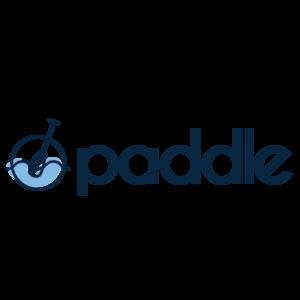 Paddle logo square