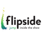 Flipside logo on light