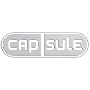 Sqaure capsule media logo