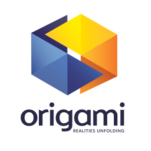 Copy of origami logo