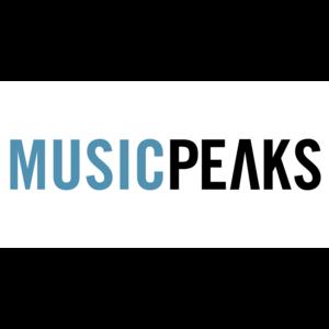Square musicpeaks logo