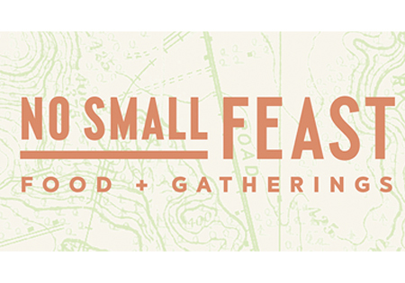 Logo for No Small Feast
