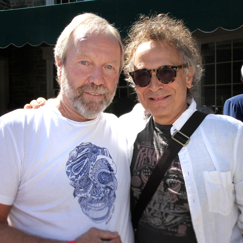Gary Slaight with Marc Jordan, Songwriter Chair of The Slaight Family Music Lab. Photo credit: Danilo Ursini
