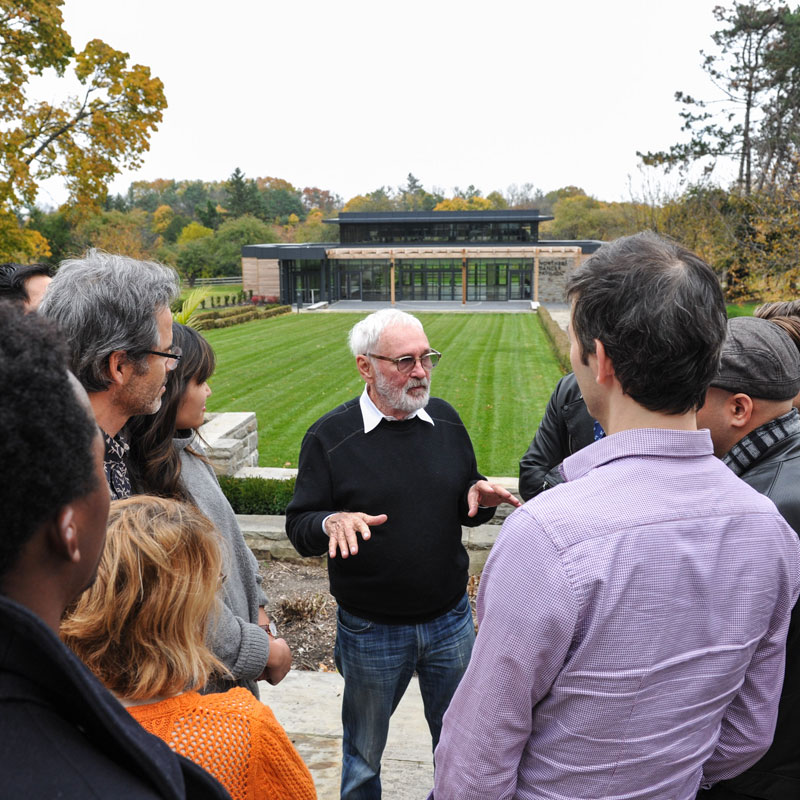 CFC's beloved founder, Norman Jewison, shares his wisdom and advice with the 2014 residents of the Cineplex Entertainment Film Program