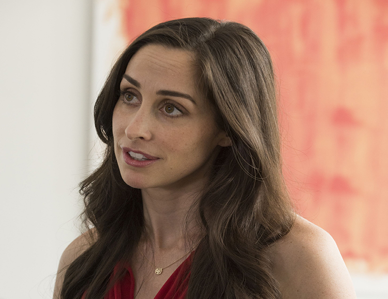 Photo of Catherine Reitman as her character, Kate.