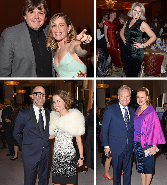 4 Photos of people posing at the CFC Gala