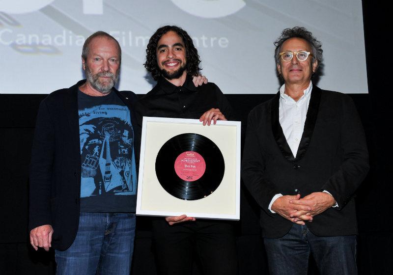 Ben Fox accepting award