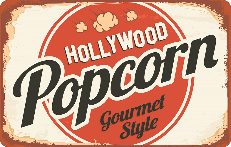 Logo for Hollywood Popcorn