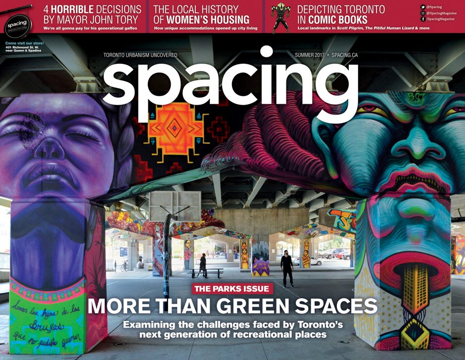 Cover of Spacing magazine