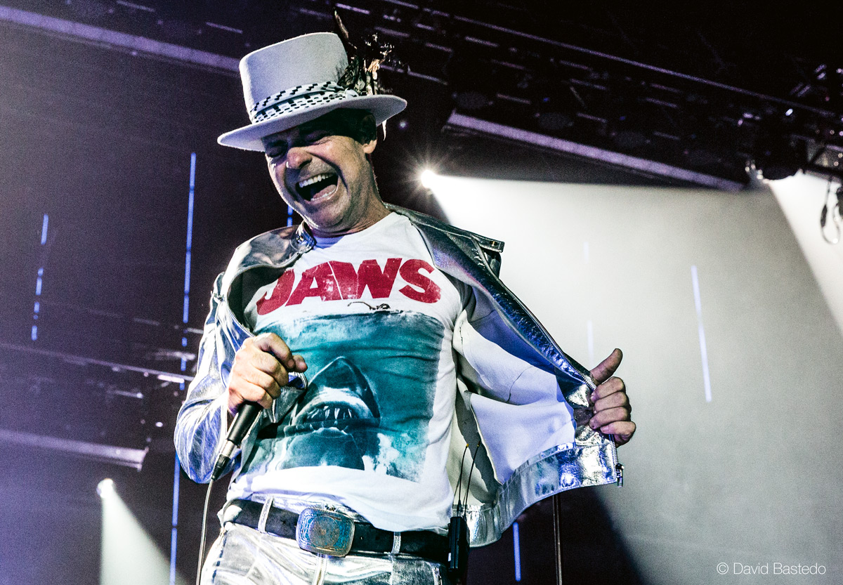 Gord Downie on stage (Photo credit: David Bastedo)
