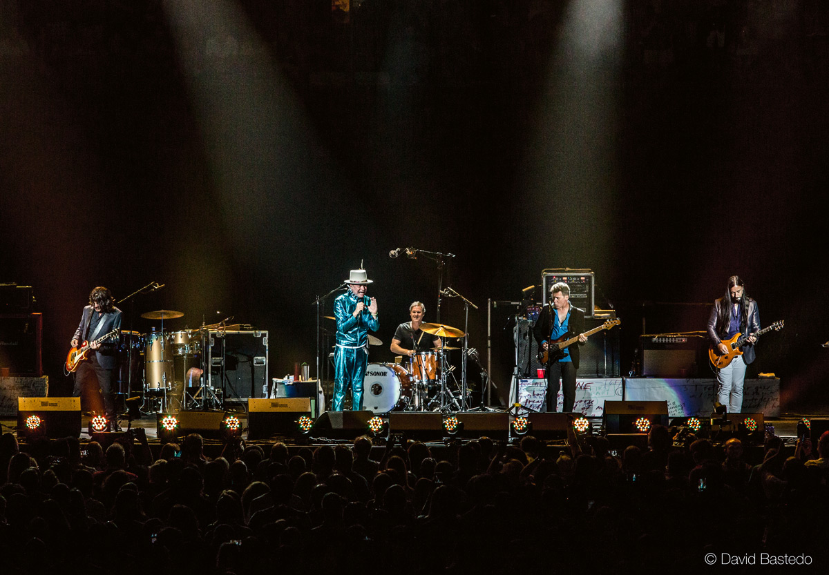 Tragically Hip on stage Photo Credit: David Bastedo