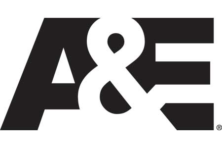 Logo for A&E