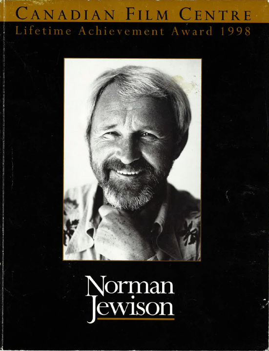 The front cover of a Lifetime Achievement Award booklet