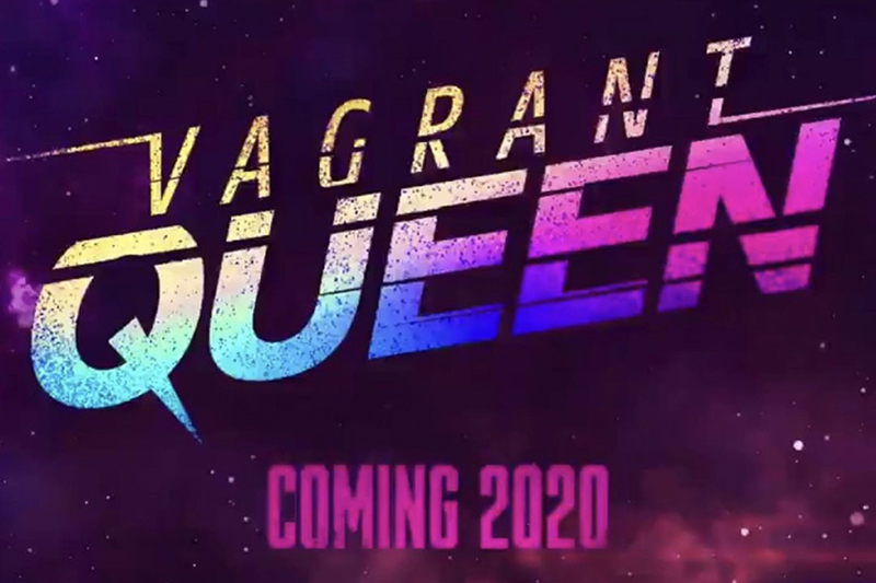 TV series advertisement that says Vagrant Queen coming 2020