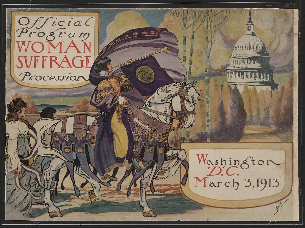 1913 Woman Suffrage Procession