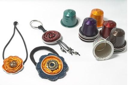 DIY crafts, espresso capsules