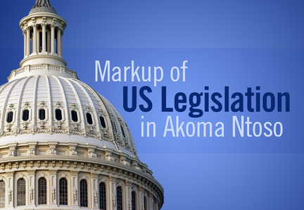 Markup of US Legislation in Akoma Ntoso