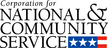 Logo for Corporation for National and Community Service
