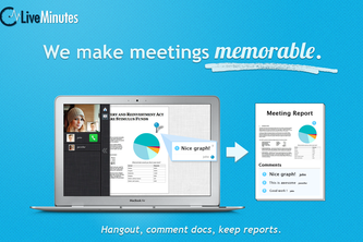 LiveMinutes: remember every meeting!