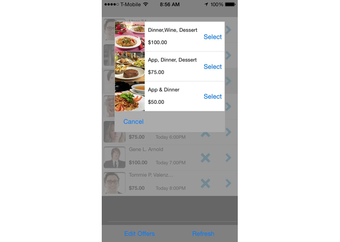 Dining Proffer – screenshot 6
