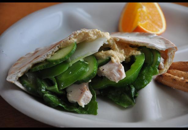 Veggie and Hummus Pita Sandwich | Recipes for Healthy Kids ...