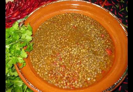 Lentils of the Southwest