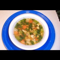 Tuscan Smoked Turkey & Bean Soup