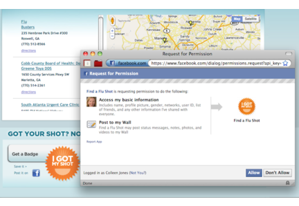 Flu Shot Finder for Web + Mobile