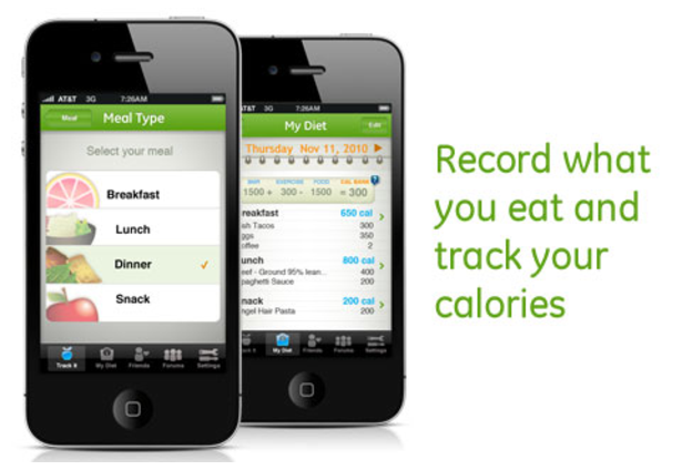 My Diet Diary - Calorie Counter App | United States Surgeon General ...