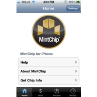MintChip for iPhone